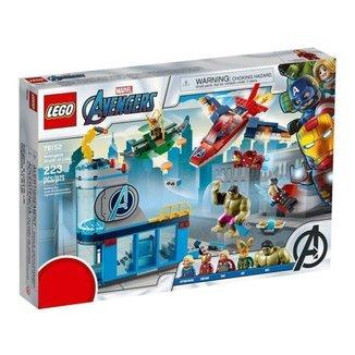 LEGO Vingadores  A Ira de Loki 223 Peças