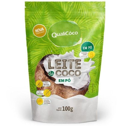 Leite de coco em pó QualiCôco 100g