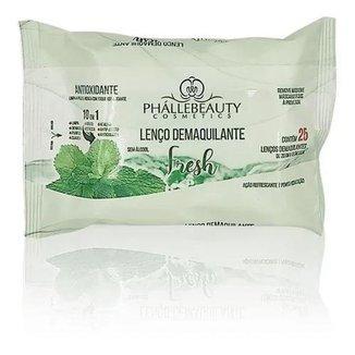 Lenço Demaquilante Fresh - Phállebeauty