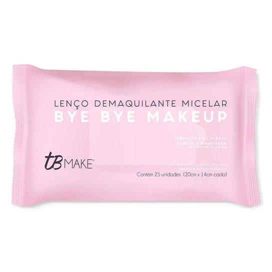 Lenço Demaquilante TB Make – Bye Bye Make Up 25 Un - Incolor
