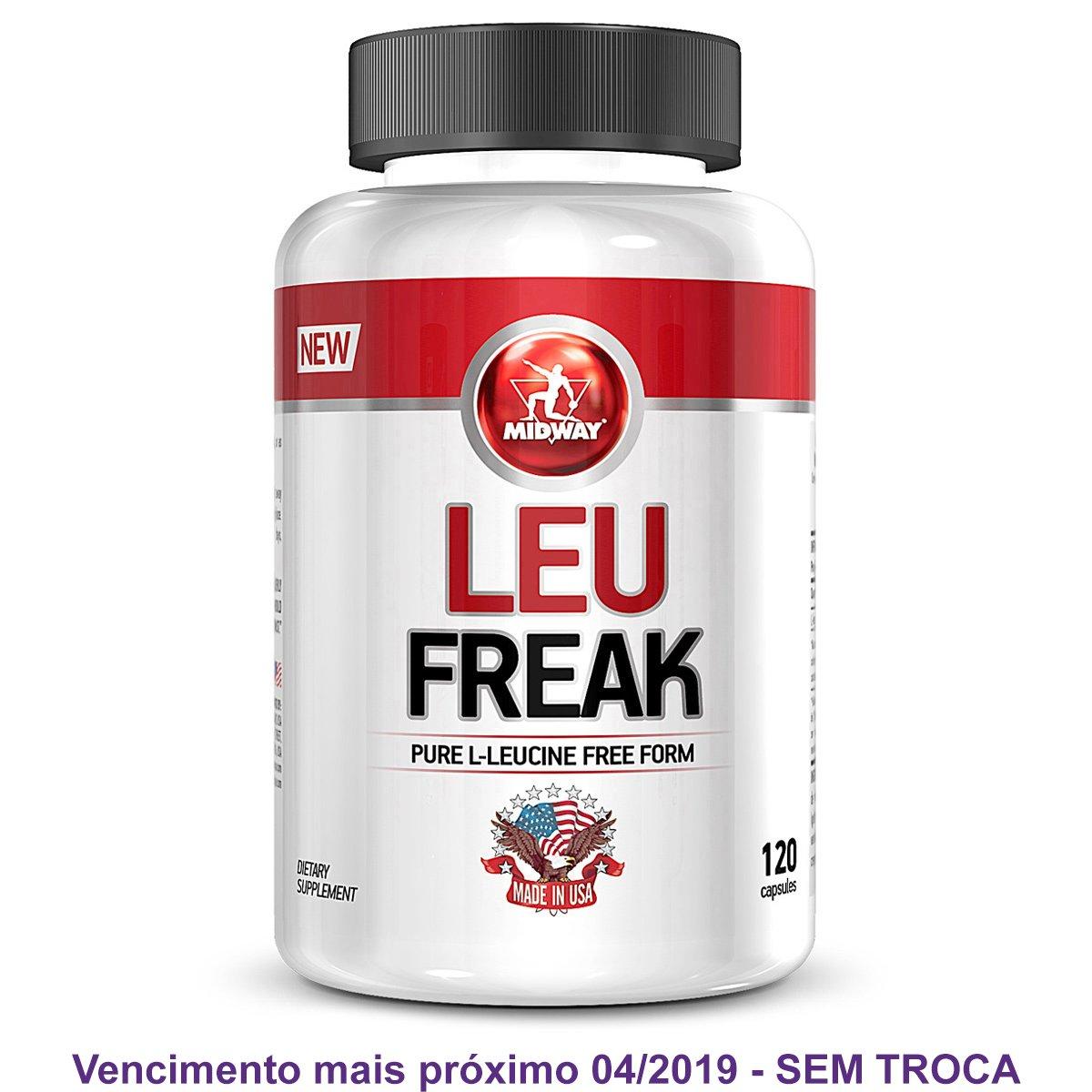Leu Freak Aminoácido Leucina Isolada Military Trail - 120 Cáps - Compre  Agora  b000ee5a8a039