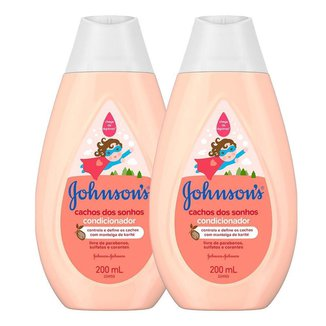 Leve 2 Pague 1 Condicionador Cabelos Cacheados Johnson's Baby 200ml
