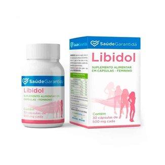 Libidol Suplemento Alimentar 30 Cápsulas Feminino SG