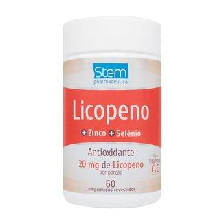 Licopeno 20mg (60 Comprimidos) - Stem Pharmaceutical