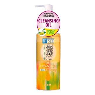 Limpador Facial Hada Labo Gokujyun Oil Cleansing 200ml