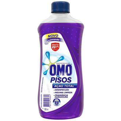 Limpeza de Pisos Omo Lavanda 450ml - Unissex