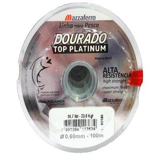 Linha De Pesca Dourado Top Platinum 0,80 Mm 200 M 71,4 Lbs