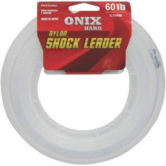 Linha Fastline Shock Leader Onix Hard 60 Lb - 50m