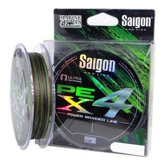 Linha Multifilamento Saigon X4 Camouflage 45lbs 0,29mm 300m
