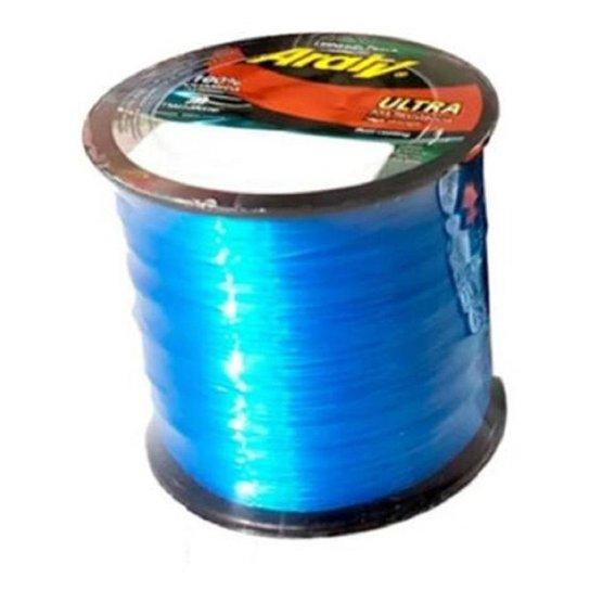 Linha Pesca Araty Ultra  0,40 Mm 719 M 24,7 Libras - Azul Royal