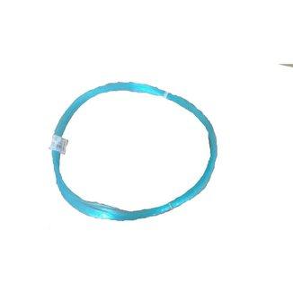 Linha pesca meada nylon 1,20 mm (0120) Azul 100 metros 210 Libras