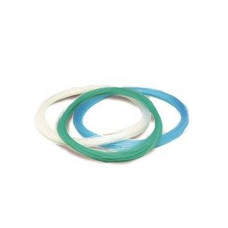 Linha pesca meada nylon 1,40 mm (140) branco 100 metros