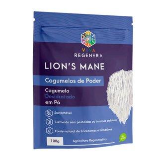 Lions Mane Cogumelos De Poder Viva Regenera 100g