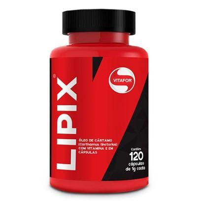 Lipix (Óleo de cártamo, Vitamina E) - 120 cápsulas - Vitafor - Unissex
