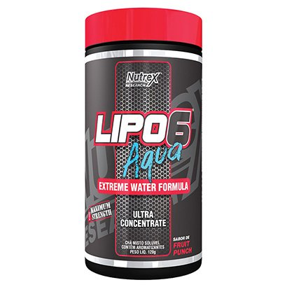 Lipo 6 Aqua Extreme Water Ultra Concentrado 120g - Nutrex