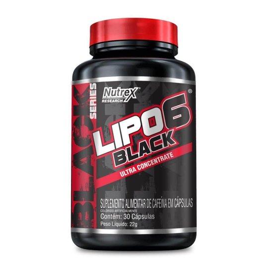 Lipo 6 Black Ultra Concentrado (30 Cápsulas) - Nutrex -