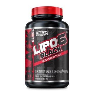 Lipo 6 Black Ultra Concentrado (30 Cápsulas) - Nutrex