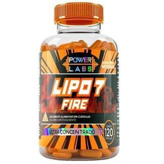 Lipo 7 Fire 120 Caps   Power Labs