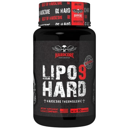 Lipo 9 420 Mg 60 Cápsulas - Hardcore Sports Nutrition