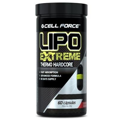 Lipo Extreme - 60 Cáps - Cell Force