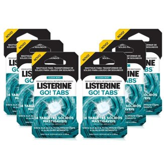 Listerine Go! Tabs 24 Unidades