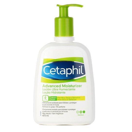 Loção Hidratante Corporal Cetaphil Advanced Moist 473ml - Incolor