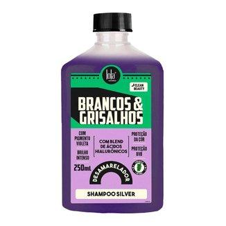 Lola Cosmetics Brancos & Grisalhos Shampoo Silver 250ml
