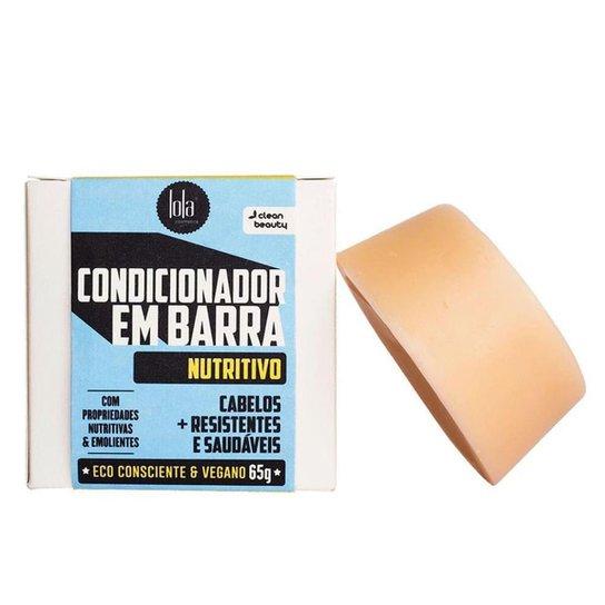 Lola Cosmetics Condicionador em Barra Nutritivo 65g - Incolor