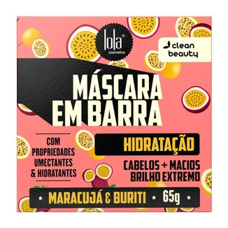 Lola Cosmetics Máscara em Barra Hidratação 65g