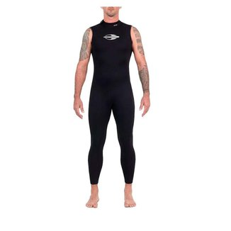 Long john sem manga backzip 2mm masculino triathlon 5a águas abertas Mormaii