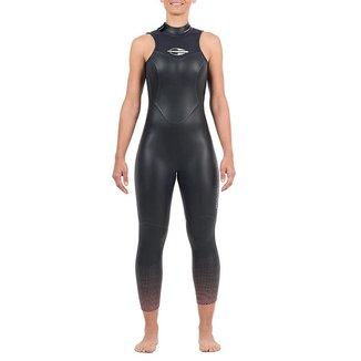 Long john sem manga backzip 5.3mm feminino triathlon 5a águas abertas Mormaii