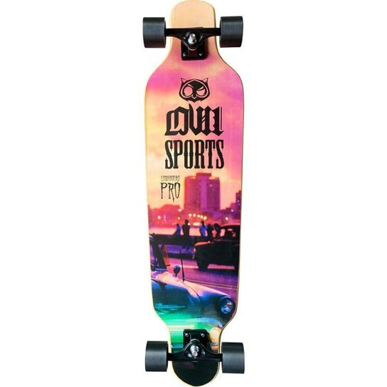 Longboard Owl Vice Speed - Incolor