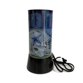 Luminária Rotativa 30cm 120v NFL Dallas Cowboys