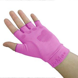Luva Ballyhoo média de dedo longo de fator proteção solar 50 UPF