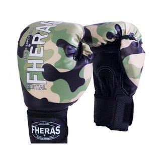 Luva Boxe Muay Thai Fheras New Camuflado