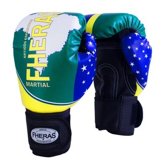 Luva Boxe Muay Thai Fheras New Top Brasil
