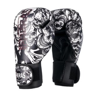 Luva Boxe Muay Thai Fheras Top Caveira (070148)