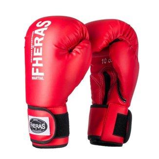 Luva Boxe Muay Thai Fheras Tradicional (050000)