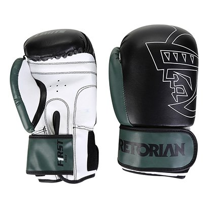 Luva Boxe/Muay Thai First Pretorian 14 Oz - Unissex