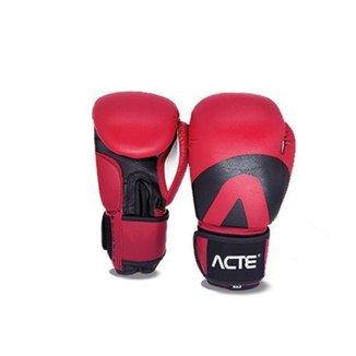 Luva de Boxe Acte Sports 12 Oz - Vermelho