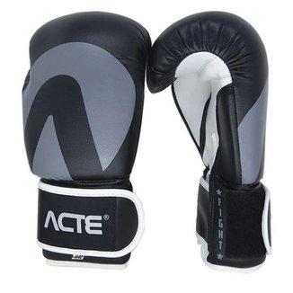Luva de Boxe Acte Sports 14 Oz - Preto