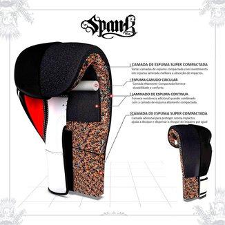 Luva de Boxe e Muay Thai Spank - Preto
