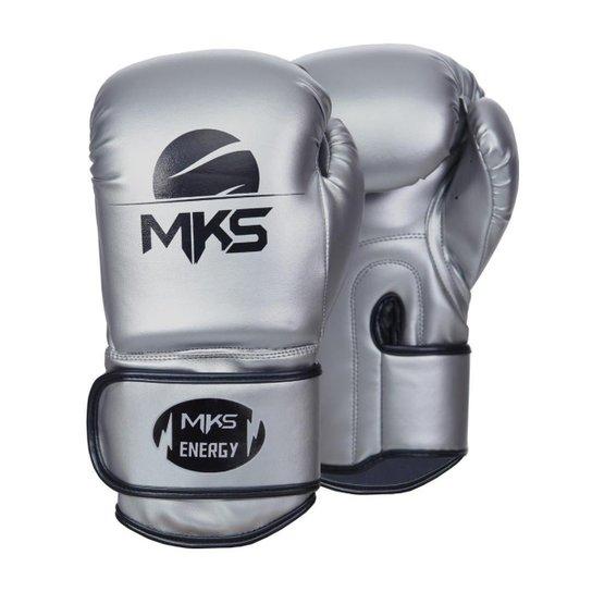 Luva de Boxe MKS Combat Energy V2 - Prata