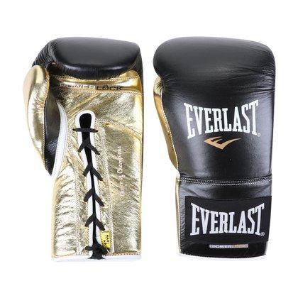 Luva de Boxe/ Muay Thai Everlast Powerlock Amarração 12 Oz
