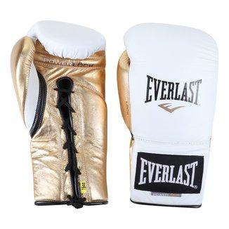 Luva de Boxe/ Muay Thai Everlast Powerlock Amarração 16 Oz