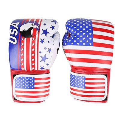 Luva de Boxe / Muay Thai Naja Estados Unidos 12 Oz - Unissex