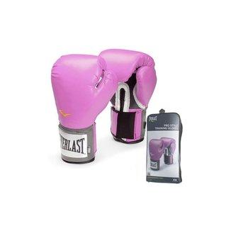 Luva De Boxe/Muay Thai - Pro Style Training - Everlast - Rosa
