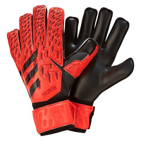 Luva de Goleiro Adidas Predator Match - Vermelho+Preto