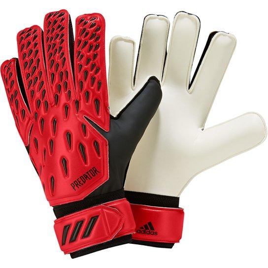 Luva de Goleiro Adidas Predator Training - Vermelho+Preto