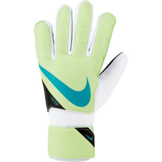 Luva de Goleiro Nike Match - Verde+Branco